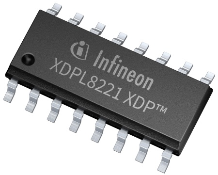 The XDPL8221 driver IC supports full functionality for both AC and DC input in the nominal input voltage range of 100 VAC to 277 VAC or 127 VDC to 430 VDC.