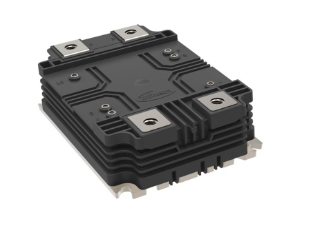 The first XHP™ 3 IGBT modules feature a half bridge topology with a blocking voltage of 3,3 kV and a nominal current of 450 A. In order to meet customers' demands, two different isolation classes are launched simultaneously: 6 kV and 10.4 kV isolation, respectively.