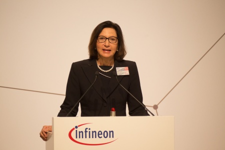Margaret Suckale, new member of the Supervisory Board Infineon Technologies AG at the Annual General Meeting 2020.