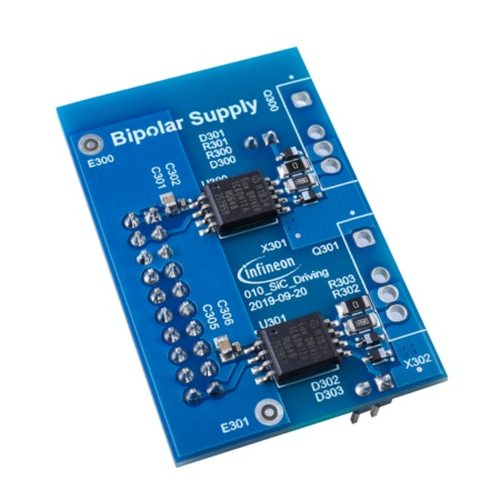 The drive card for bipolar supply includes the EiceDRIVER™ 1EDC Compact 1EDC60H12AH.