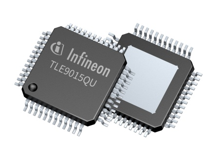 TLE9015QU is an iso-UART transceiver device matching Infineon's new BMS-IC for hybrid and electric vehicles