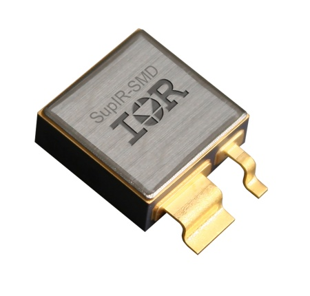 Compared to the typical packaging solution used in space applications, the SupIR-SMD delivers a 37 percent smaller footprint, 34 percent lighter mass and 33 percent higher current density, while offering a more direct thermal path for heat transfer.
