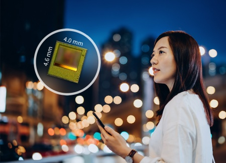 The new REAL3 ToF chip enables better photography results with a faster autofocus in low-light conditions or perfect night mode portraits based on picture segmentation.