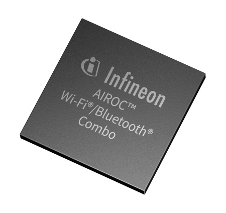 The AIROC™ Wi-Fi 6/6E and Bluetooth® 5.2 combo family comprises the 1x1 Wi-Fi 6/6E and Bluetooth 5.2 combo SoC for the IoT, enterprise and industrial applications, and the 2x2 Wi-Fi 6/6E and Bluetooth 5.2 combo SoC for multimedia, consumer and automotive applications. The Wi-Fi 6/6E combo solutions operate in the 2.4 GHz, 5 GHz, and the new, greenfield 6 GHz spectrum to deliver robust performance and minimal latency.
