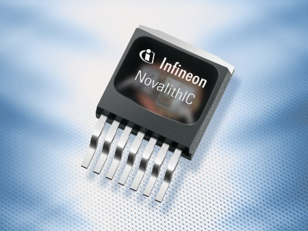 The NovalithIC(tm) combines three integrated circuits - two power chips and one logic circuit to control and monitor the power stage - in one small package of approximately 1 square centimetre in size and provides a fully integrated high current half-bridge for motor drive applications in cars (i.e. heating, ventilation air-conditioning systems (HVAC), seat belt systems and fuel pumps).