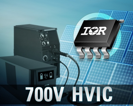 The new IR7xxxS series of 700 V HVICs offers the simplest, smallest and lowest cost solution to drive MOSFETs or IGBTs up to 700 V, delivering up to 30 percent reduction in part count and up to 50 percent of board space compared to discrete optocoupler or transformer-based solutions.
