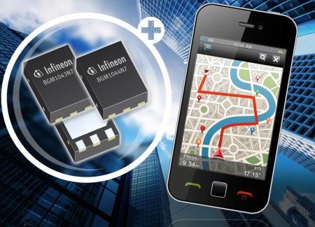Infineon's New GNSS Receive Front-End Modules Feature Industry's Best Noise Figure in World's Smallest Package
