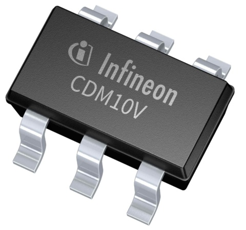 Infineon package picture SOT23 CDM10V