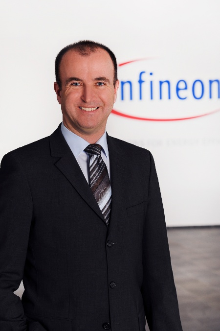 Carsten Loschinsky, Head of Business Line Government ID for the Chip Card & Security Division of Infineon Technologies