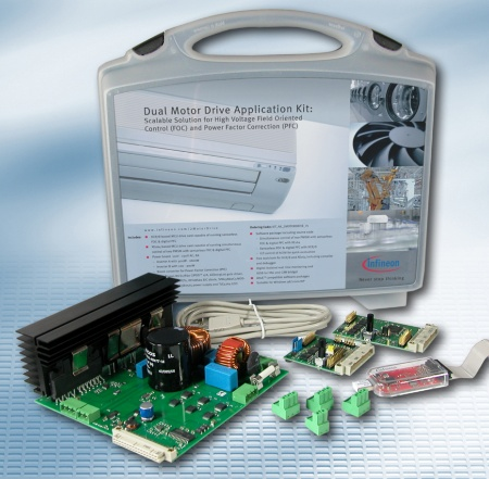 Dual Motor Drive Application Kit