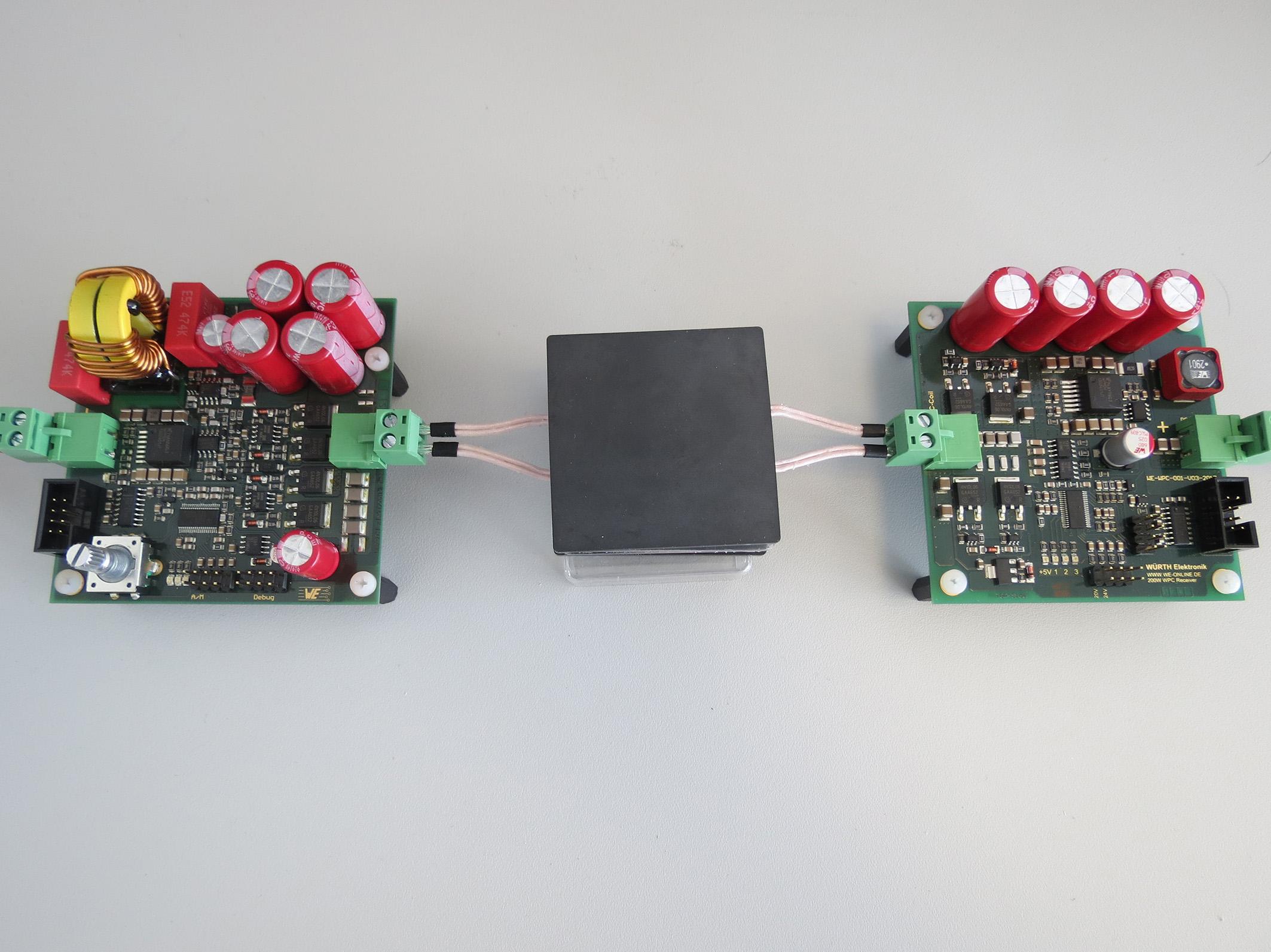 New 200-watt development system: Combining wireless power and data ...