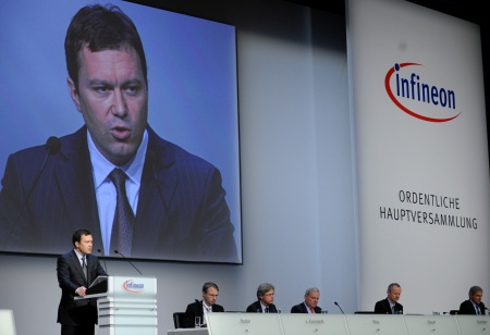 Dr. Marco Schröter, Member of the Management Board and CFO, Infineon Technologies AG