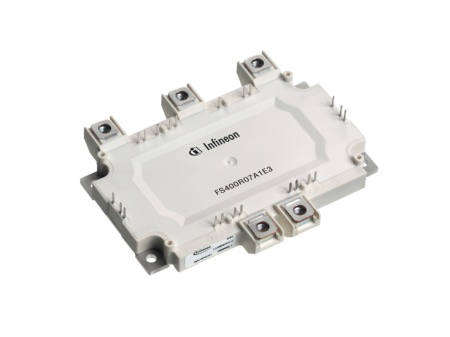 "Designed for use in ""mild"" HEV vehicles, the Infineon HybridPACK(tm)1 power module contains all power semiconductors for the inverter and an NTC (Negative Temperature Coefficient) resistor for temperature measurement. The module is based on Infineon's leading-edge Trenchstop(tm) Fieldstop IGBT and emitter controlled diode technology. HybridPACK1 reduces the size of HEV electronic control systems by one third to only 20 x 30 x 10 cm and a weight of about 15 kilos."