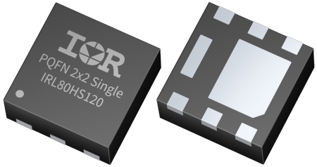 The new IR MOSFET devices in the PQFN package deliver between 11 and 40 percent lower RDS(on) than competitive products. The ultra-low gate charge reduces switching losses without increasing conduction losses. In addition, the output capacitance and reverse recovery charge have been optimized.