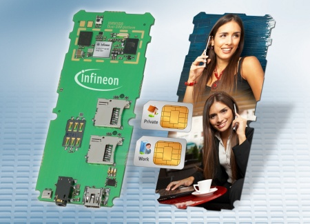 XMM1028 The Infineon XMM(tm)1028 reference platform comprises of one Single-Chip that integrates baseband, power management, RF and two SIM interfaces.
