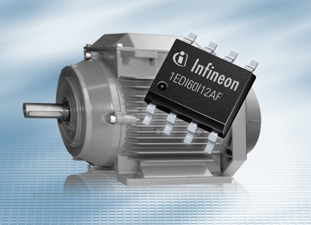 Extremely robust and reliable: The new 1EDI EiceDRIVER™ Compact for applications up to 1200V supplies six amperes of output current for MOSFET and IGBT.