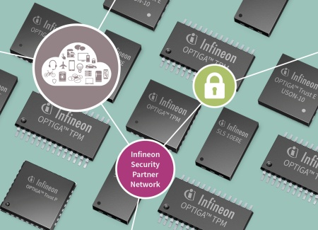 The Infineon Security Partner Network (ISPN) makes proven semiconductor-based security easily accessible to the growing number of manufacturers of connected devices and systems—ranging from professional water filter systems to smart homes and industrial control.