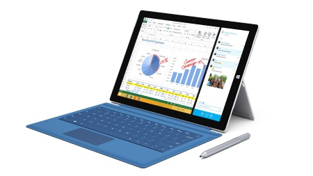The Infineon OPTIGA TPM SLB 9665 series is used in the Microsoft Surface Pro 3 tablet.