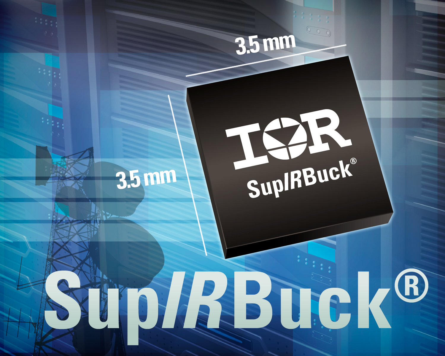 Irs Ir3823 3a Supirbuck Integrated Voltage Regulator Delivers 975 Switching Pr130808