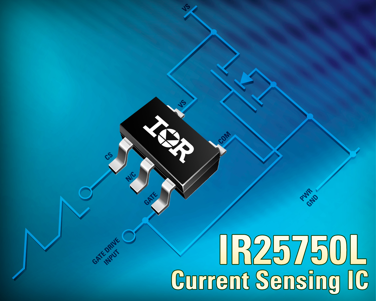 IR's Robust 600V IR25750 SOT-23 Current Sensing IC Boosts