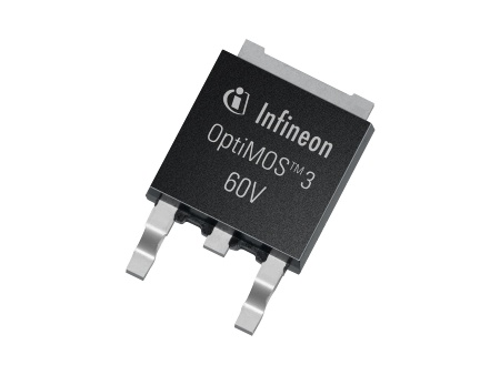The Infineon MOSFET families OptiMOS 3 40V, 60V and 80V reduce power losses by up to 30 percent in industrial, consumer and telecommunications applications.