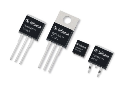 The 200V and 250V devices of Infineon's OptiMOS(tm) power MOSFET family enhance energy efficiency of 48V systems, DC-DC converters, uninterruptable power supplies (UPS) and inverters for DC motor drives.