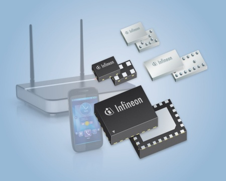 Infineon shipped one billion RF switches for smartphones and tablets underlining the company's position as one of the leading and fastest growing suppliers for RF switches.