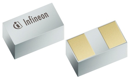 With an average of 10-30 TVS diodes used in typical consumer electronics products Infineon's SG-WWL-2-1 package enables a small size with no sacrifice in performance.