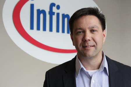 "Shawn Slusser, Vice President of the Automotive division at Infineon Technologies Americas Corp.: ""We feel honored to receive DENSO's award for premium customer service."""