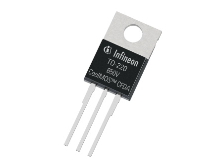 Infineon's 650V CoolMOS™ CFDA for Automotive Applications With Integrated Fast Body Diode is Setting New Standards in the Field of Energy Efficiency