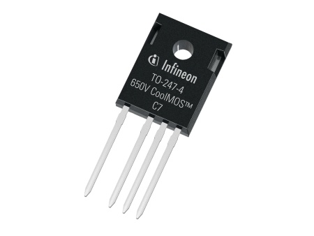 CoolMOS C7 - the latest generation of Infineon's Superjunction power transistors - is going to be the first MOSFET family using the TO 247-4 pin package.