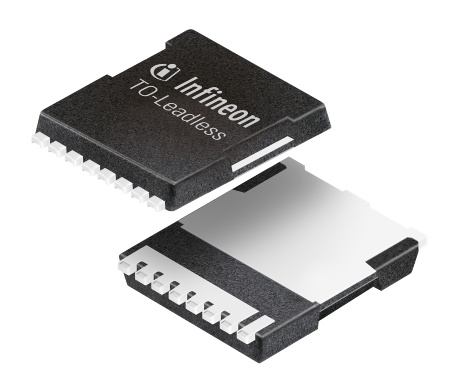 Infineon Introduces New TO-Leadless Package – Designed for High Current Applications up to 300A