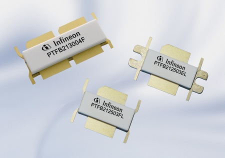 The new Infineon High Power LDMOS Transistor Family Offers Industry-Leading Power and Bandwidth Performance for Next Generation Cellular Base Stations.