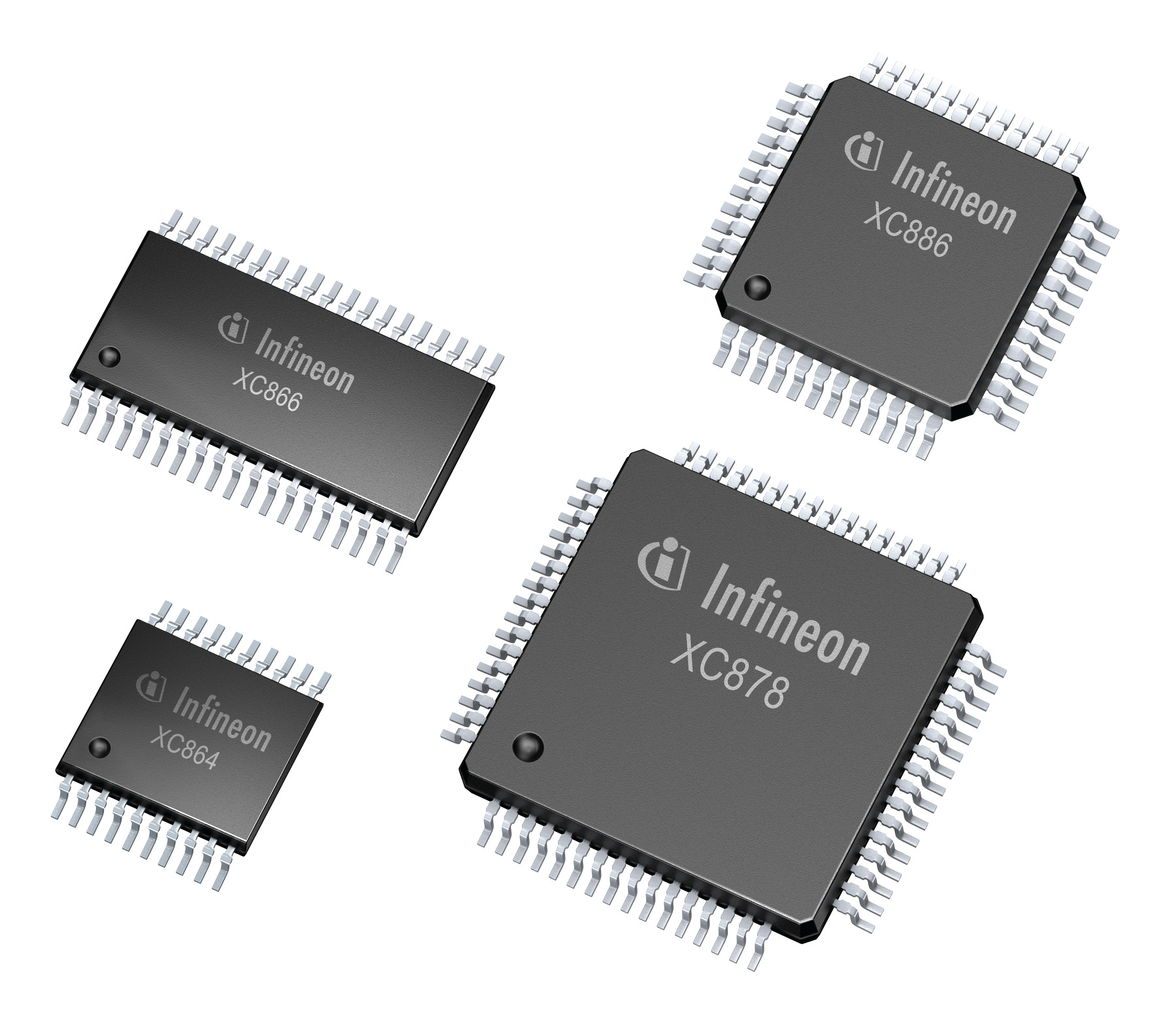 Infineon's microcontrollers support variable-speed drives over a wide range of performance classes, from about 250 W to 12 kW.