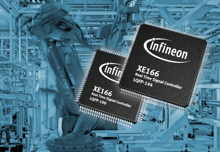 Infineon Launches New Real-Time Signal Controller Family for Industrial Applications with DSP Functionality, Powerful Peripherals and Extensive Flash Memory