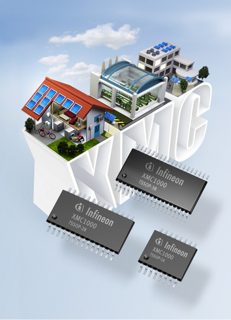 The 32-bit microcontroller family XMC1000 for low-end industrial applications offers 32-bit power for 8-bit prices. It addresses sensor and actuator applications, LED lighting, digital power conversion, such as uninterruptible power supplies, and simple motor drives, such as those used in household appliances, pumps, fans and e-bikes.
