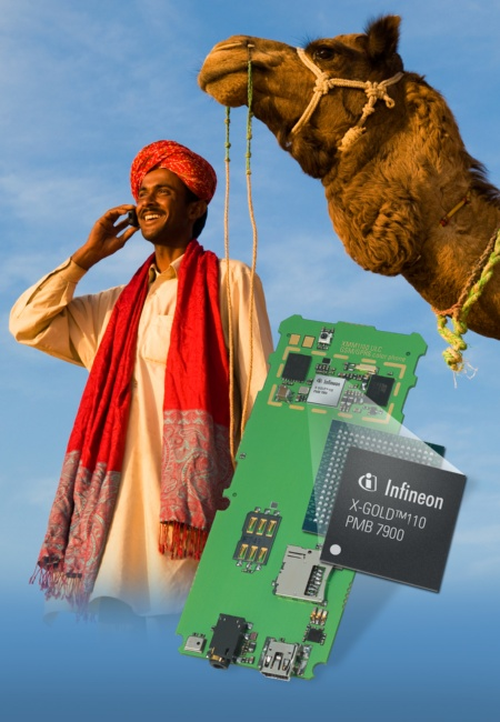 The X-GOLD(tm)110 is the world's highest integrated and very cost effective one-chip solution for GSM/GPRS ultra low-cost phones.