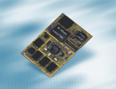 The Infineon XMM 6080 platform includes the HSDPA/EDGE baseband, power management, single chip 3.5G RF transceiver and is complemented by the complete HEDGE phone software suite.