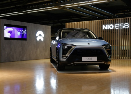 NIO ES8: More than 60 semiconductors from Infineon provide a highly efficient electric drive in a fully electric SUV