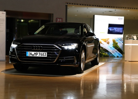 Infineon is part of the world's 1st series production car with L3 autonomous driving features