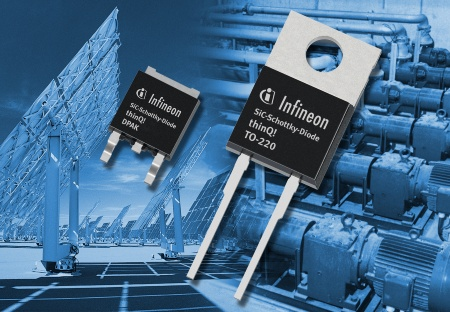 Infineon Introduces Third Generation Silicon Carbide Schottky Diodes; Improved Performance Helps Reduce Cost of Power Conversion Systems for Motor Drive and Renewable Energy Applications