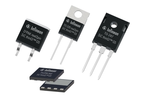 650V SiC thinQ! Generation 5 diodes improve efficiency and solution costs