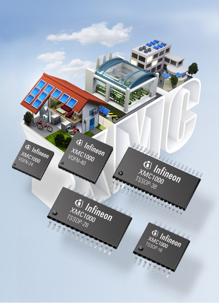 The 32-bit microcontroller family XMC1000 for low-end industrial applications offers 32-bit power for 8-bit prices. It addresses sensor and actuator applications, LED lighting, digital power conversion, such as uninterruptible power supplies, and simple motor drives, such as those used in household appliances, pumps and fans.