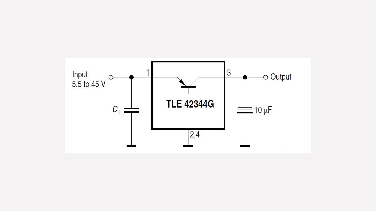 Tle42344g Infineon Technologies 12v Linear Regulator For Transceiver Radio Prevnext