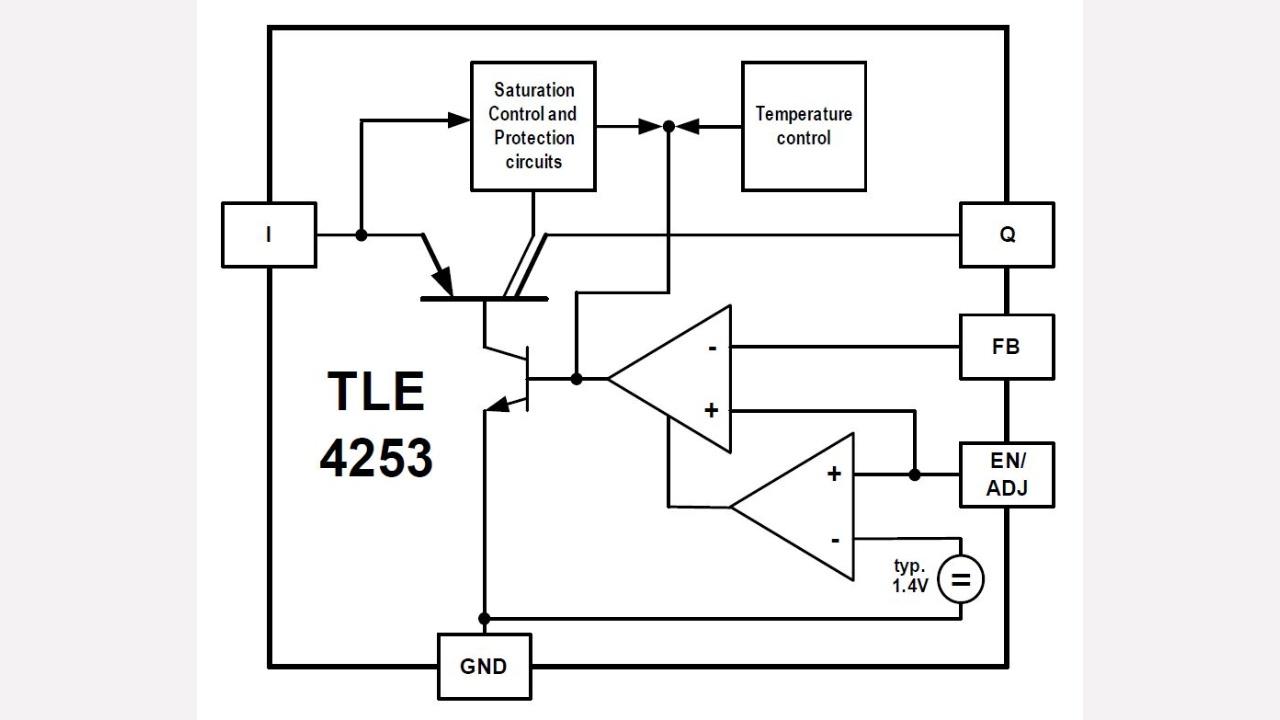 Tle4253gs Infineon Technologies Mc Supply Co Bodine Electric Kb Electronics Brake Motor Stepper Prevnext