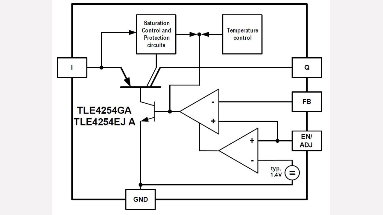 Tle4254ej A Infineon Technologies Build Precision Receiver Battery Low Voltage Alarm Circuit Diagram Diagrams Prevnext