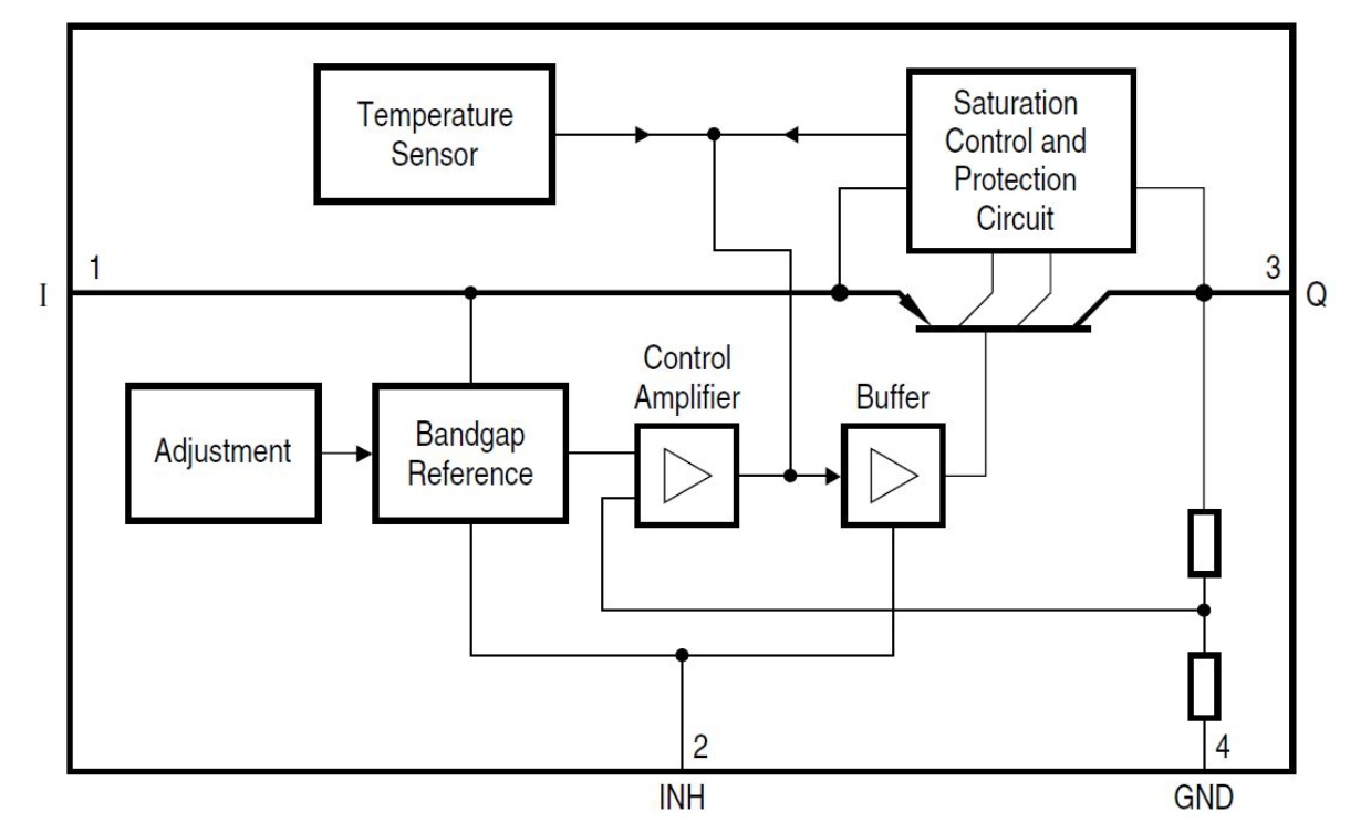 Tle4266g Infineon Technologies 3 Phase Ups Block Diagram Diagrams Prevnext