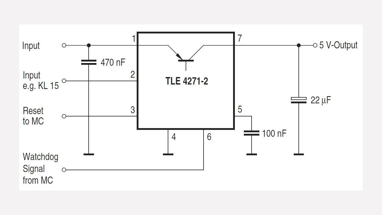 Tle4271 2g Infineon Technologies Logic Diagram Isa 5 2 Diagrams Prevnext