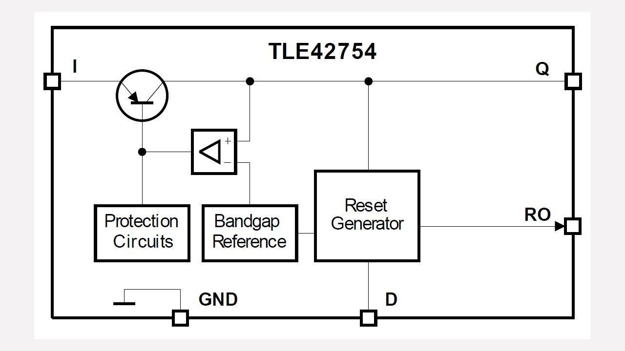Tle42754e Infineon Technologies Diagram Dual Field Alternator And Electronic Voltage Regulator Diagrams Prevnext