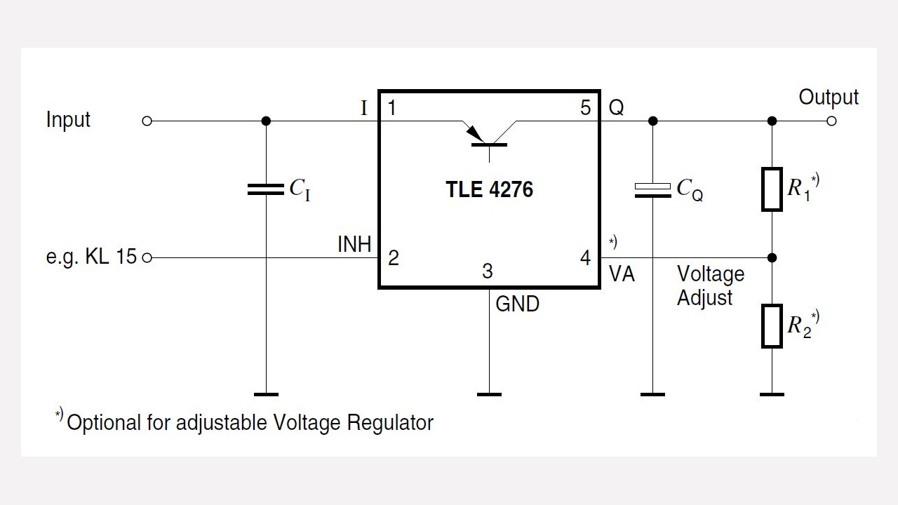 Tle4276sv Infineon Technologies Linear Integrated Circuit Questions And Answers Voltage Limiter Prevnext
